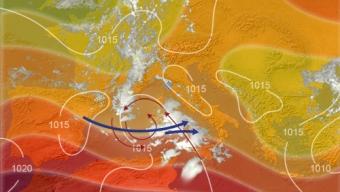 10 settembre 2021…la depressione mediterranea in azione tra sardegna e tirreno meridionale…