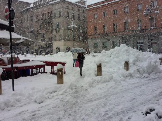 Parma, Nevicata 6 Febbraio 2015
