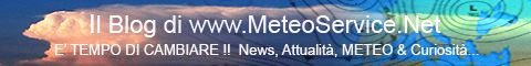 Il Blog di Meteoservice