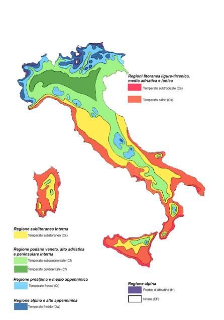 Cartina Clima Mondo.Il Clima In Italia La Classificazione Di W Koppen Meteoservice E Tempo Di Cambiare