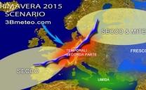 Previsioni meteo primavera 2015: ecco come potrebbe andare
