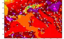Minime bollenti in tutta Italia questa mattina, punte di 25 gradi