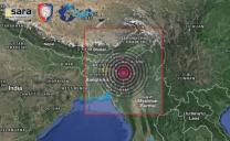 FORTISSIMA SCOSSA DI TERREMOTO DI Mw 6.8 IN MANIPUR, AL CONFINE TRA INDIA, BANGLADESH E  MYANMAR