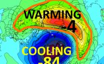 Warming sempre più potenti in stratosfera; ecco le conseguenze possibili