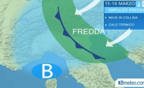 METEO ITALIA, Mercoledì torna la NEVE al NORD, fino a bassa quota in PIEMONTE