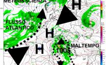 Da mercoledì nuova ondata di maltempo a iniziare da nord, giovedì e venerdì tocca la centrosud