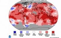 Temperatura del globo: altro storico record