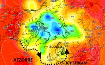 Lungo termine con trend dominante atlantico, anticicloni africani di breve durata