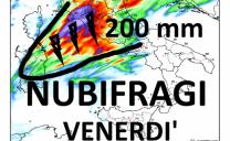 Nubifragi il 15 su Liguria e Sardegna. Il 16, Lazio e Toscana
