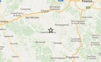 Toscana, scossa di terremoto a Castelfiorentino: magnitudo 3,9