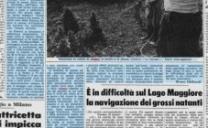 25 Giugno 1976, Allarme Siccità, a rischio le coltivazioni in pianura padana