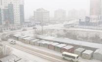 Prima nevicata a jakutsk 6 Ottobre 2017