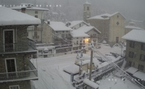 Neve nelle Valli di Lanzo con accumuli importanti