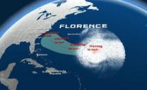 Florence diventa uragano : impatterà sugli Stati Uniti, dove è scattato l'allerta sugli stati della costa orientale.
