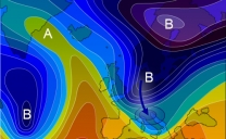 30 aprile 2019…i classici tardivi impulsi freddi primaverili…
