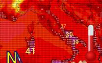 Domani temporali al nord e caldo intenso sulle regioni adriatiche,ioniche e sulle due isole maggiori.