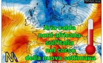 Nuovo caldo in arrivo sull'Italia