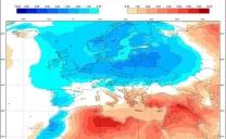La primavera da domenica diventerà più calda sul mediterraneo centrale 🌡️