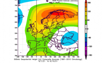 Gran parte dell'Europa sta vivendo condizioni calde ed in particolare sulla Penisola Scandinava.
