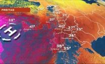 Ondate di caldo estremo stanno interessando diverse parti del continente europeo compreso il sud dell'Italia
