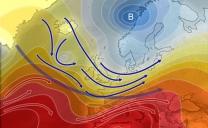 25 luglio 2021…energico sub-tropicale ma flusso instabile sul settentrione…