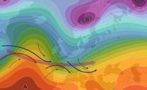 17 ottobre 2021…dalle correnti settentrionali ad un tipico corso occidentale…