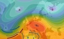 21 ottobre 2021…terza decade nel segno di circolazioni depressionarie sul mediterraneo meridionale…