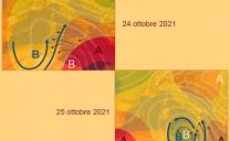 24 ottobre 2021…il corso possibile del vortice mediterraneo…