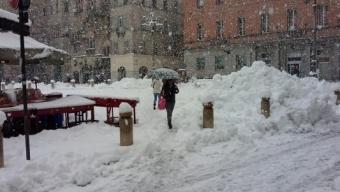 Abbondante nevicata del 5-6 Febbraio 2015 a Parma