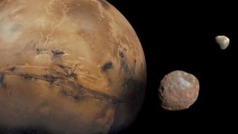 Anomalie nel Sistema Solare: Phobos, luna di Marte, sta per essere distrutta!