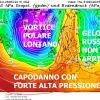 SAN SILVESTRO CON NESSUNA COLATA FREDDA IN ARRIVO SULL'ITALIA, CONFERME DAL CENTRO EUROPEO DI READING