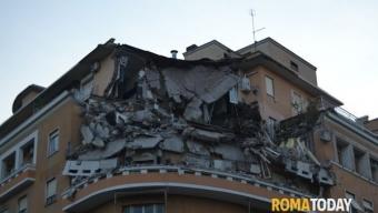 Roma, crollo palazzo Lungotevere Flaminio: tragedia sfiorata
