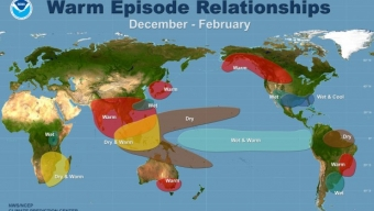 """Climate Chaos! La NASA avverte che """"cambiamenti climatici causati da El Niño, potrebbe causare una trasposizione di modelli meteo"""""""