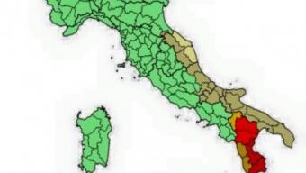 SABATO: allerta Meteo della Protezione Civile per il SUD