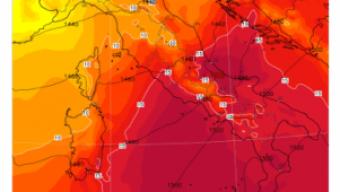 Caldo estivo mercoledì 13 al Centrosud