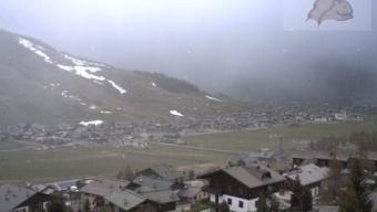 Fitta nevicata a Livigno!