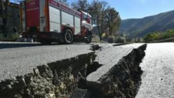 Terremoto, notte di scosse e freddo a Norcia