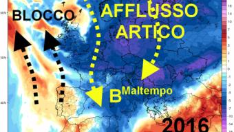 Ottobre – Conferme fredde ed instabili per tutto il mese: Impulsi Artici nel Mediterraneo