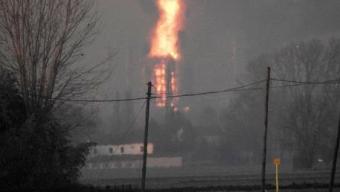 Sannazzaro (Pavia), esplosione in una raffineria Eni. Non ci sono feriti