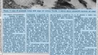 13 agosto 1976 allagamenti e frane sul litorale adriatico