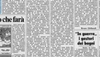 23 Luglio 1976, sollievo per la fine della siccità, ma l'Italia è stata la meno colpita