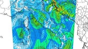 Previsioni 28/09/17. Ancora maltempo all'estremo Sud con temporali su Puglia, ioniche e Sicilia. Stabile altrove. I dettagli.