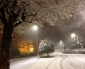 Foto nevose di Saluzzo in provincia di Cuneo