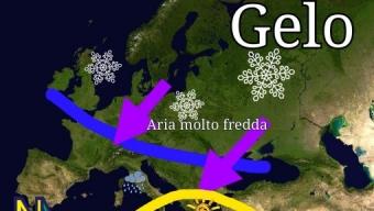 Tempo instabile e via via sempre più freddo fino a venerdì 23 Marzo.
