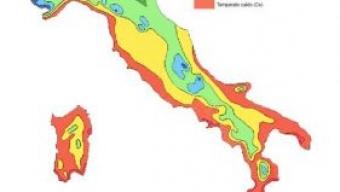 Cartina Italia Zone Climatiche.Il Clima In Italia La Classificazione Di W Koppen Meteoservice E Tempo Di Cambiare