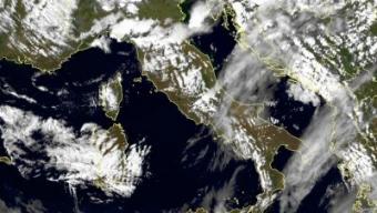 Tempo instabile sull'Italia nelle prossime 12 ore.
