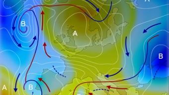 19 aprile 2020…una esemplare situazione meteo…