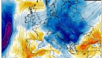 Dopo un periodo mite possibile irruzione fredda artica sull'Italia nel corso delle festività di Natale?❄️⛄
