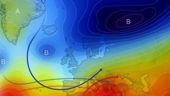 26 aprile 2021…prospettive di flussi dominanti da occidente, e forse, di azzorre…