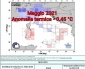 Maggio 2021 più freddo di – 0.45° C rispetto alla media di riferimento